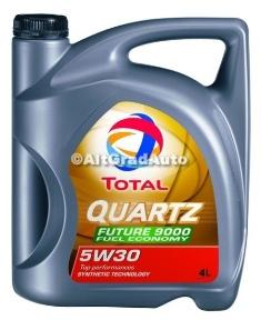 Ulei Total Quartz 9000 FUTURE 5W30 Fuel Economy